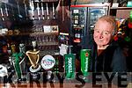 Publican Joe O'Connor in his pub Joe's Place.