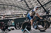 Zdenek Stybar (CZE/Quick-Step Floors) warming up inside the Orange Vélodrome<br /> <br /> 104th Tour de France 2017<br /> Stage 20 (ITT) - Marseille › Marseille (23km)