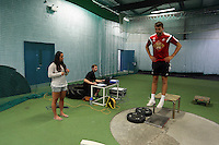 Pictured: Lukasz Fabianski (R). Thursday 03 July 2014<br />