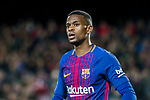 Nelson Cabral Semedo of FC Barcelona looks on during the Copa Del Rey 2017-18 Round of 16 (2nd leg) match between FC Barcelona and RC Celta de Vigo at Camp Nou on 11 January 2018 in Barcelona, Spain. Photo by Vicens Gimenez / Power Sport Images