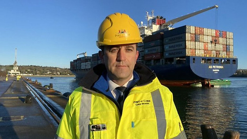Conor Mowlds, Port of Cork's Chief Commercial Officer
