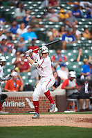 Ryan Vilade (4) of Frisco High School in Frisco, Texas during the Under Armour All-American Game presented by Baseball Factory on July 23, 2016 at Wrigley Field in Chicago, Illinois.  (Mike Janes/Four Seam Images)