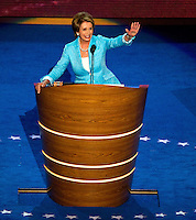 Nancy Pelosi, D-CA., at the Democratic National Convention in the Time Warner Cable Arena in Charlotte, North Carolina.