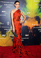 NEW YORK CITY, NY, USA - JUNE 16: Model Jacquelyn Jablonski arrives at the 2014 Fragrance Foundation Awards held at the Alice Tully Hall, Lincoln Center on June 16, 2014 in New York City, New York, United States. (Photo by Celebrity Monitor)