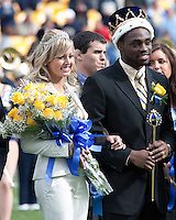 Pitt homecoming queen and king. The Pitt Panthers defeated the Louisville Cardinals 20-3 at Heinz Field, Pittsburgh Pennsylvania on October 30, 2010.