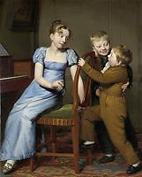 Piano Practice Interrupted, Willem Bartel van der Kooi, 1813