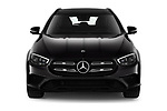 Car photography straight front view of a 2021 Mercedes Benz E-Class-Wagon E450-All-Terrain 5 Door Wagon Front View