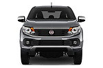 Car photography straight front view of a 2017 Fiat Fullback Sport Pack 4 Door Pick Up