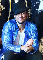 Peter Andre at a photocall for his new role in Thriller LIve at the Lyric Theatre, London on December 10th 2019<br /> <br /> Photo by Keith Mayhew