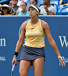 August  17, 2019:  Madison Keys (USA) defeated Sofia Kenin (USA) 7-5, 6-4, at the Western & Southern Open being played at Lindner Family Tennis Center in Mason, Ohio. ©Leslie Billman/Tennisclix/CSM