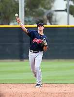 Luke Wakamatsu - Cleveland Indians 2020 spring training (Bill Mitchell)