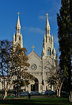 Saints Peter & Paul Church, San Francisco. Bob & Lou's trip to California Nov. 2015. (Bob Gathany Photographer)