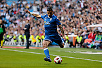 UD Melilla's Ruano during Copa del Rey match between Real Madrid and UD Melilla at Santiago Bernabeu Stadium in Madrid, Spain. December 06, 2018. (ALTERPHOTOS/A. Perez Meca)