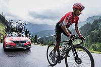 Nairo Quintana (COL/Arkéa Samsic) up the  Col de la Colombière<br /> <br /> Stage 8 from Oyonnax to Le Grand-Bornand (150.8km)<br /> 108th Tour de France 2021 (2.UWT)<br /> <br /> ©kramon