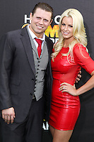 SANTA MONICA, CA, USA - FEBRUARY 15: The Miz; Maryse Ouellet at the 4th Annual Cartoon Network Hall Of Game Awards held at Barker Hangar on February 15, 2014 in Santa Monica, California, United States. (Photo by David Acosta/Celebrity Monitor)