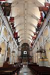 The interior view of Cathedral Saint-Louis des Invalides. Paris. city of Paris. France