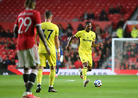 Ethan Pinnock of Brentford in action during Manchester United vs Brentford, Friendly Match Football at Old Trafford on 28th July 2021
