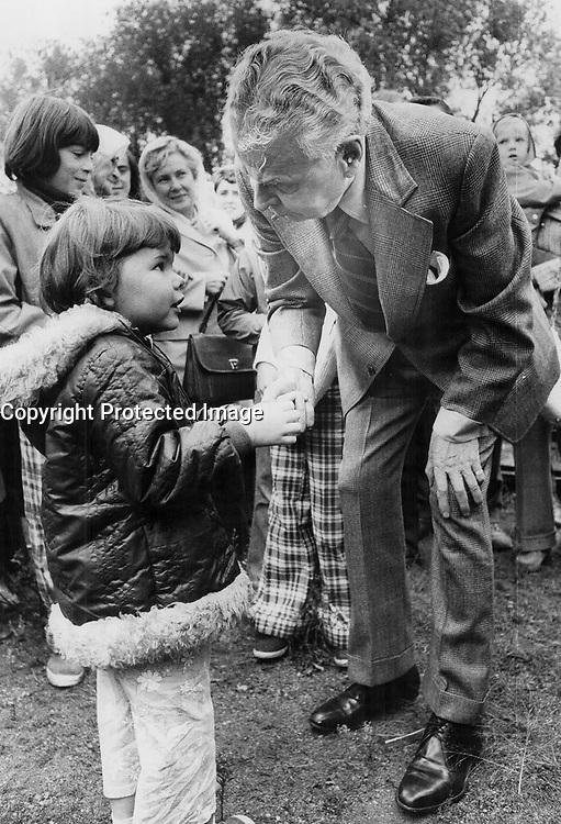 Former conservative  Prime Minister  John Diefenbaker