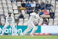 Devon Conway, New Zealand drives through the covers and sets off for runs during India vs New Zealand, ICC World Test Championship Final Cricket at The Hampshire Bowl on 20th June 2021