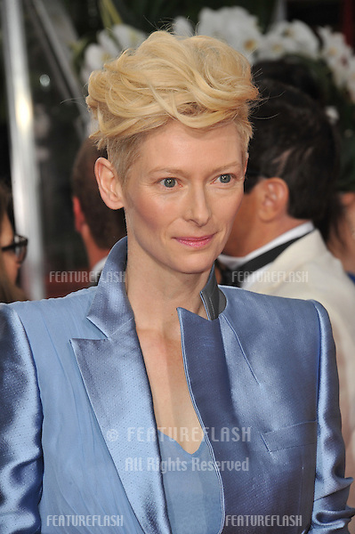 Tilda Swinton at the 69th Golden Globe Awards at the Beverly Hilton Hotel..January 15, 2012  Beverly Hills, CA.Picture: Paul Smith / Featureflash