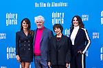 (L-R) Penelope Cruz, Pedro Almodovar, Julieta Serrano and Nora Navas attend the photocall of the movie 'Dolor y gloria' in Villa Magna Hotel, Madrid 12th March 2019. (ALTERPHOTOS/Alconada)