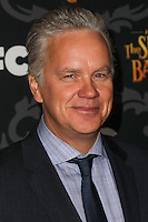 """LOS ANGELES, CA - JANUARY 07: Tim Robbins arriving at the Los Angeles Screening Of IFC's """"The Spoils Of Babylon"""" held at the Directors Guild Of America on January 7, 2014 in Los Angeles, California. (Photo by Xavier Collin/Celebrity Monitor)"""