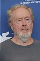 """VENICE, ITALY - SEPTEMBER 10: Director Ridley Scott attends the photocall of """"The Last Duel"""" during the 78th Venice International Film Festival on September 10, 2021 in Venice, Italy. <br /> CAP/GOL<br /> ©GOL/Capital Pictures"""