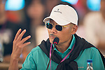 He Ping at the China Film Makers Forum on the sidelines of the World Celebrity Pro-Am 2016 Mission Hills China Golf Tournament on 21 October 2016, in Haikou, China. Photo by Marcio Machado / Power Sport Images