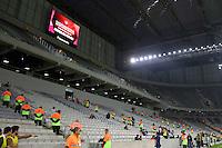 CURITIBA, PR, 14.05.2014 -  JOGO TESTE ATLÉTICO PARANAENSE x  CORINTHIAS (SP) - Estádio Arena da Baixa durante Jogo-teste para copa do mundo entre Atlético Paranaense  X Corinthians, no Estádio Arena da Baixada, em Curitiba, na noite desta quarta-feira (14).(Foto: Paulo Lisboa / Brazil Photo Press)