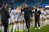 Stanford, CA - December 8, 2019: Hideki Nakada, Margueritte Aozasa at Avaya Stadium. The Stanford Cardinal won their 3rd National Championship, defeating the UNC Tar Heels 5-4 in PKs after the teams drew at 0-0.
