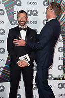 Charlie Condou and Paul Bettany<br /> arriving for the GQ Men of the Year Awards 2021 at the Tate Modern London<br /> <br /> ©Ash Knotek  D3571  01/09/2021
