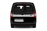 Straight rear view of 2020 Citroen Berlingo - 4 Door Car Van Rear View  stock images