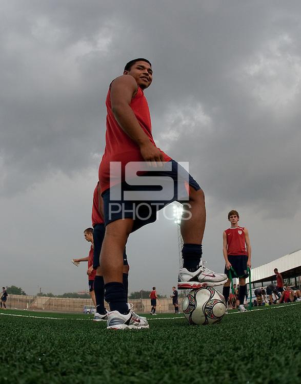 Bryan Duran. U.S. Under-17 Men Training  Kano, Nigeria