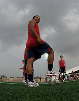 Bryan Duran. U.S. Under-17 Men Training  Kano, Nigeria