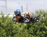 September 13, 2014:  Scenes from the WWA Wakeboard World Championships at Mills Pond Park in Fort Lauderdale, FL.   Men's Professional Damien Adam  Liz Lamont/ESW/CSM