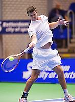 14-12-12, Rotterdam, Tennis Masters 2012,    Antal van der Duim