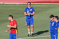 Spanish coach Julen Lopetegi durign the first training of the concentration of Spanish football team at Ciudad del Futbol de Las Rozas before the qualifying for the Russia world cup in 2017 August 29, 2016. (ALTERPHOTOS/Rodrigo Jimenez) /NORTEPHOTO