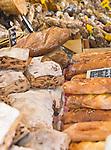 Bread at Marche (Market) de la Place Richelme, Aix-en-Provence, France