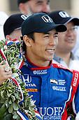 Verizon IndyCar Series<br /> Indianapolis 500 Winner Portrait<br /> Indianapolis Motor Speedway, Indianapolis, IN USA<br /> Monday 29 May 2017<br /> Winner  Takuma Sato, Andretti Autosport Honda<br /> World Copyright: Michael L. Levitt<br /> LAT Images