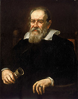 """Galileo Galilei pianting byJustus Sustermans in 1636<br /> <br /> Galileo Galilei , 15 February 1564 – 8 January 1642), was an Italian physicist, mathematician, astronomer, and philosopher who played a major role in the Scientific Revolution. His achievements include improvements to the telescope and consequent astronomical observations and support for Copernicanism. Galileo has been called the """"father of modern observational astronomy"""", the """"father of modern physics"""",the """"father of science"""",and """"the Father of Modern Science""""."""
