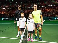 ABNAMRO World Tennis Tournament, 15 Februari, 2018, Rotterdam, The Netherlands, Ahoy, Tennis, Philip Kohlschreiber (GER), Roger Federer (SUI)<br /> <br /> Photo: www.tennisimages.com