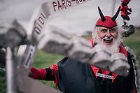 Didi Der Teufel at Carrefour de l'arbre<br /> <br /> parcours recon of the 116th Paris-Roubaix 2018, 3 days prior to the race