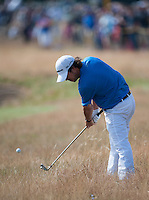 20.07.2014. Hoylake, England. The Open Golf Championship, Final Round.  Brian Harman [USA] with his approach to the green