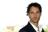 "RAOUL BOVA.Photcall for the film ""Io, l'altro"", Campidoglio, Rome, Italy..May 10th, 2007.headshot portrait .CAP/CAV.©Luca Cavallari/Capital Pictures"