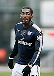 Dundee v St Johnstone…10.03.18…  Dens Park    SPFL<br />Roarie Deacon<br />Picture by Graeme Hart. <br />Copyright Perthshire Picture Agency<br />Tel: 01738 623350  Mobile: 07990 594431