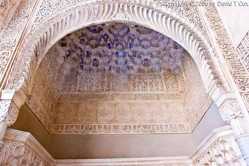 room off of Patio Arrayanes, Palacio de los Nazaries, Granada, Spain