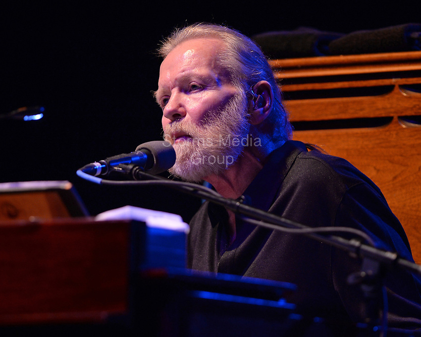 HOLLYWOOD FL - JANUARY 04: Gregg Allman performs at Hard Rock Live held at the Seminole Hard Rock Hotel & Casino on January 4, 2015 in Hollywood, Florida<br /> <br /> <br /> People:  Gregg Allman