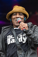 The Real Thing performing during Rewind South, The 80s Festival, at Temple Island Meadows, Henley-on-Thames, England on 20 August 2016. Photo by David Horn.