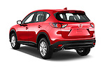 Car pictures of rear three quarter view of2016 Mazda CX5 Premium Edition 5 Door SUV Angular Rear