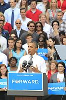 President Obama Campaign 2012 Rally, Columbus Ohio, September 17th, 2012